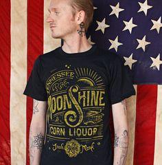 Moonshine Corn Liquor- T-shirt