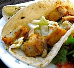 """Stir-Grilled Fish Tacos: """"I'd always heard of fish tacos but I didn't think I'd like them until I went to a restaurant and tried them. So I came here for a similar recipe ... and believe me, this is even better than the restaurant ones!"""" -nvermd"""