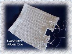 BRAGUITAS DE PERLÉ (CUBREPAÑAL) Y CAMISETAS DE PERLÉ /BABY AND GIRL PANTS AND T-SHIRTS | LABORES ARANTZA. Para tu bebé, para ti, para tu hogar