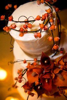 Fall Wedding Cakes : Wedding Cakes Gallery : Brides
