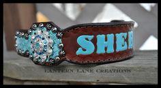Custom dog collar for Sheba