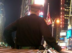 NYC's finest, Times Square, NY