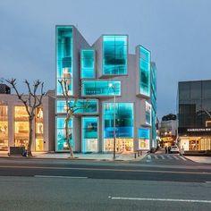 aqua, architecture, building