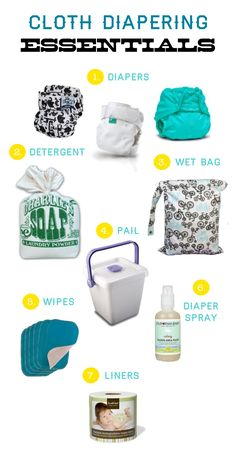 Cloth Diapering Essentials   This is the funniest list I've read yet.  I would just add a sprayer and a Spray Pal! :)