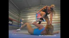 Female Wrestling | Domination | SubmissionFor the best in Female Wrestling, Domination and Submission, Videos, Downloads, DVD's, Clips and Pictures, Go to: http://www.SteelKittens.com #femalewrestling #domination #submission #wrestlingdownloads #blondebeatdown