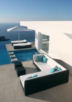 Exterior .. Pool area design
