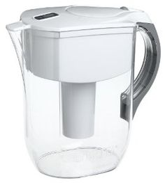 Brita 42556 Grand 80-Ounce Water Filtration Pitcher, White,in Purple, Orange, Yellow,Green,Red,$29.99