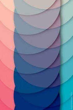 Cool pastel pattern palette