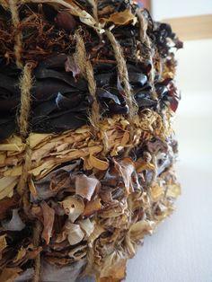 - basket made of seaweed