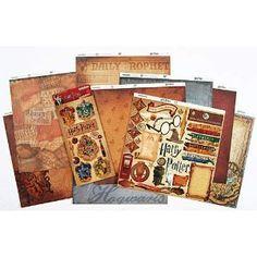 harry potter scrapbook, scrapbook kit, scrapbook idea, scrapbook misc