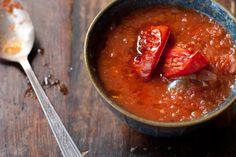 Roasted Tomato Soup - Healthy! NO cream.