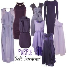Soft Summer Purple by moni-ssu, via Polyvore