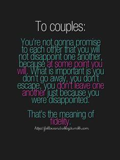 I love this...so true