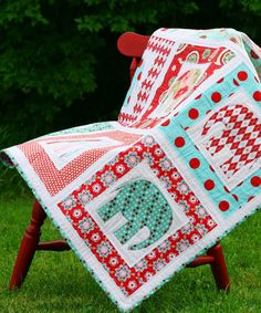 Cirque d'Elephant Quilt Pattern - Go To Patterns