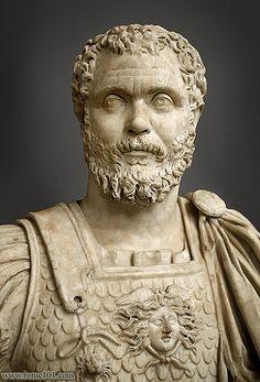 Clodius Albinus    Decimus Clodius Ceionius Septimius Albinus was born in about 150 and  died by suicide or execution under the troops of Septimius Severus on  Feb. 19, 197
