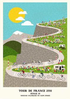 Tour De France prints