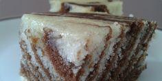 Zebra-posna-sočna zebra kolač