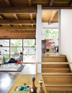wood rafters