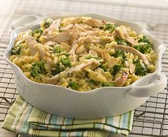 Broccoli, rice & chicken: simple 3-ingredient meal that only takes 10 minutes!
