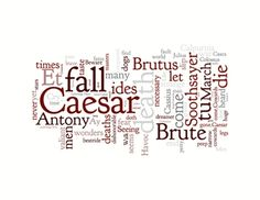 Decorate your classroom or office with the words of William Shakspeare from The Tragedy of Julius Caesar. (priced)