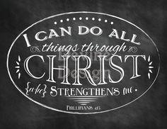 Phillipians 4:13 - My favorite bible verse!