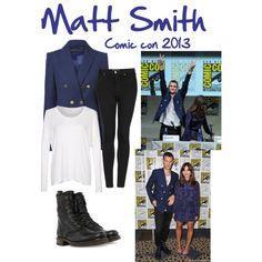 Matt smith Comic con 2013