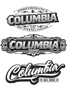 060 - 2011 Recent Type Treatments by Joshua M. Smith, via Behance