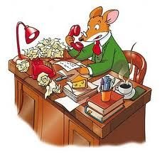Educarpetas: Lapbook de Geronimo Stilton