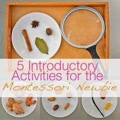 Montessori - How to Make Like a Montessori Mama: Part 1 - Food Activities