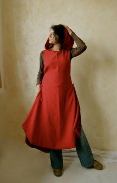 cloaks, cloth, capes, costume ideas, costumeri, hood tunic, winter coats, mediev tunic, winter dresses