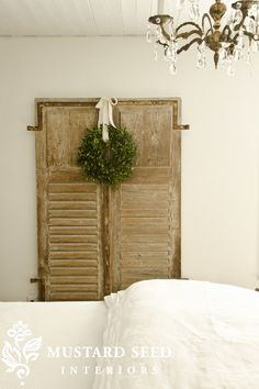these old shutters would look good between my living room and family room