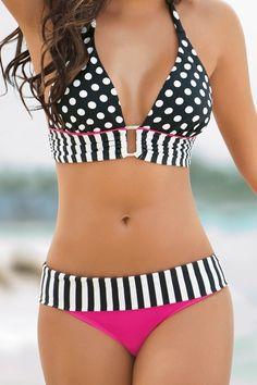bath suit, polka dots, summer wear, color, swimsuit