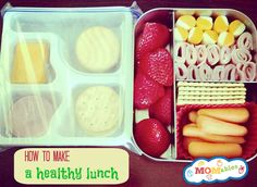 how to make a homemade lunchable MOMables.com #lunchrevolution