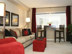 Transitional Living-rooms from Lori May on HGTV