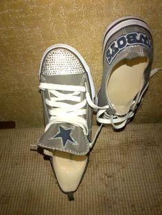 Dallas Cowboys Shoes on Pinterest