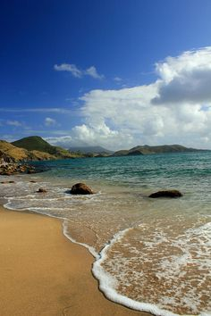 ✯ St. Kitts Beach - St. Kitts Island, Caribbean