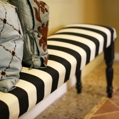 DIY – Ballard Designs Bench - This site has thousands of diy projects from the simple to the sublime - something for everyone - check it out - pin now/explore later - it will take hours, but well worth it!