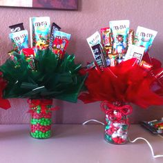 Christmas Candy Bouquet