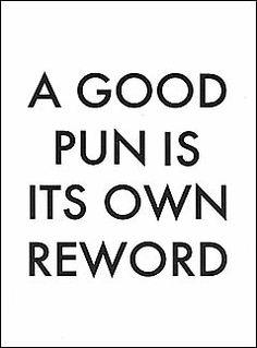 I love a good pun!