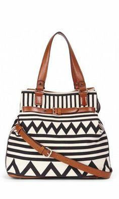Tribal Tote Bag //