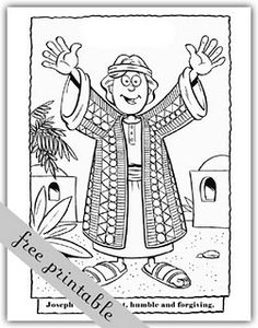 Joseph's Coat of Many Colors  I've used these before. Kids loved them.  Can color them on computer.
