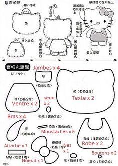 Feutrines & tissus - Petits plaisirs bon… - Kokeshi et son… - Hello Kitty en… - Mon voisin Totoro - Enfin, la feutrine! - The Cupcake Factory - Handmade