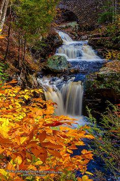 Doane's Upper Falls, Royalston, Massachusetts   Jeffrey Newcomer