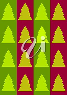 iCLIPART - Clip Art Illustration of a Fir Tree Background