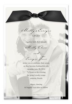 Cute wedding invitation idea - wish-upon-a-wedding