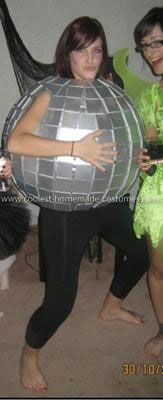how to make a homemade disco ball costume
