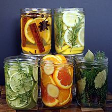 DIY Natural Room Scents. ~ Add Holiday fragrance to your home using simmering waters infused with spices, herbs, & fruit. Directions at: www.theyummylife.com/Natural_Room_Scents