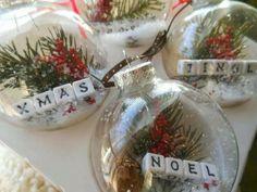Clear Ball Ornaments