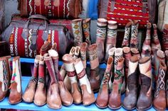 Navajo boots and bags...I think I'm in heaven