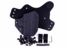 $47.17 shipped DIY hybrid Kit-1026.png black quick, assembl kit, faith holster, iwb holster, holster quick, quick assembl, carri edc, gun